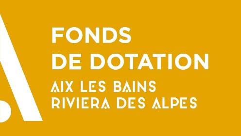 logo Fonds de Dotation Aix les Bains Riviera des Alpes
